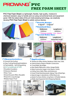 Composite Panel, Sandwich Panel , PVC FREE FOAM SHEET